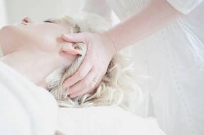 hlava masáž